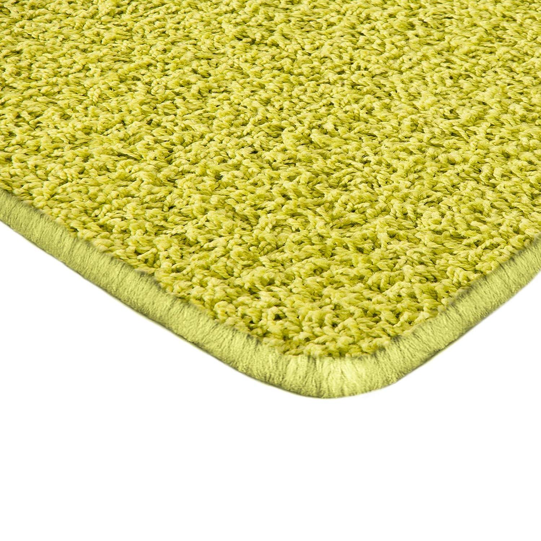 Floori Shaggy Hochflor Teppich - 160x230cm - moderner Wohnzimmerteppich - Creme B00F53QBLO Teppiche
