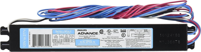 Philips Advance Intellivolt ICN-2S40-N  Lamp Ballasts Lot of 5