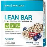 GNC Total Lean Lean Protein Bar - Blueberry Yogurt 5 bars