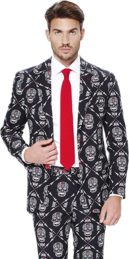 OppoSuits – Haunting Hombre – Hombres Halloween Trajes con ...