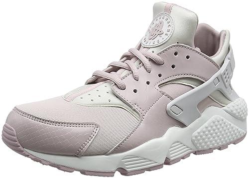 Nike Air Huarache Run, Zapatillas para Mujer, Rosa (Vast Grey/Particle Rose-Summit White 029), 42 EU: Amazon.es: Zapatos y complementos