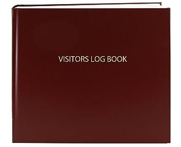 Amazon.com : BookFactory Visitor Log Book / Visitor Register ...