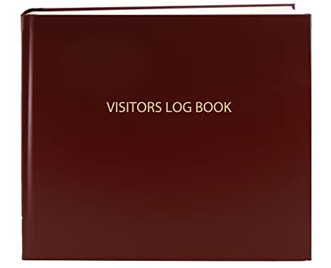 amazon com bookfactory visitor log book visitor register visitors