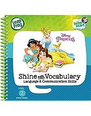 Leapstart Preschool: Disney Princess Shine with Vocabulary Activity Book (3D Enhanced)