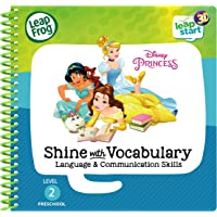 LeapFrog 80-461803 Level 2 LeapStart Book - Disney Princesses Shine with Vocabulary - 3D Enhanced Book