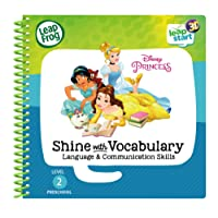 LeapStart 3D Enhanced Book Disney Princesses Shine with Vocabulary