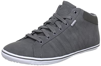 ba442580a2fd K-Swiss HOF IV MID VNZ Trainers Men grey Grau (Charcoal Beluga White ...