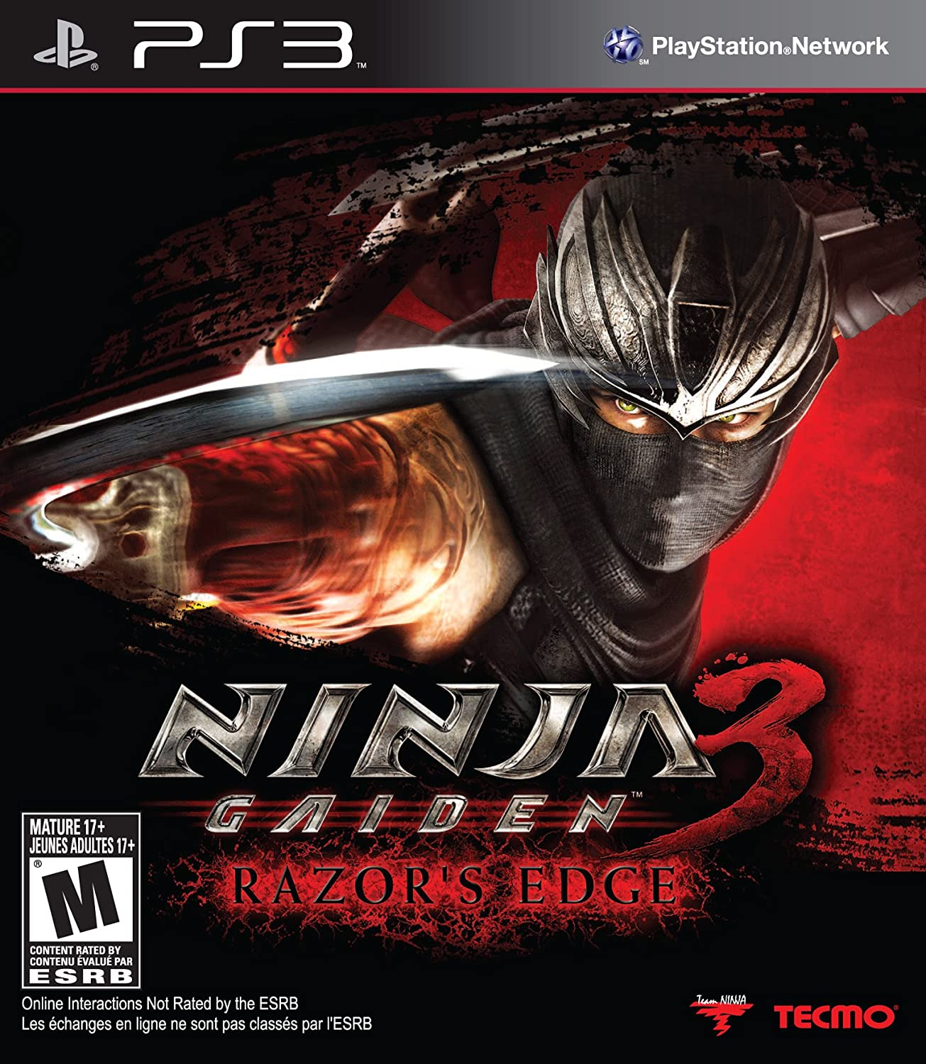 Ninja Gaiden 3: Razors Edge - Playstation 3 by Koei: Amazon ...