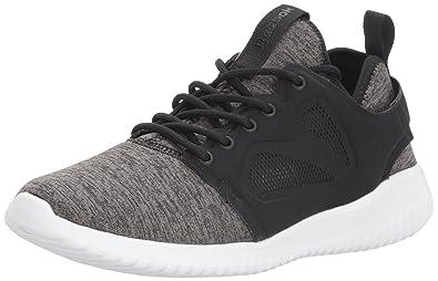 7cd8a12a81a Reebok Women s SKYCUSH Evolution LUX Fashion Sneaker Black White 7.5 ...