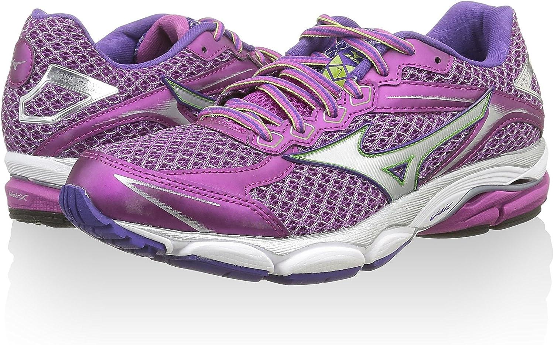 Mizuno Zapatillas de Running Wave Ultima 7 Violeta EU 42 (UK 8): Amazon.es: Zapatos y complementos