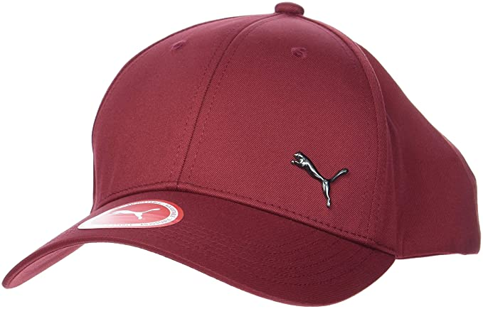 Puma – Gorra Metal Cat, Unisex Adulto, 21269, Pomegranate, Adulto ...
