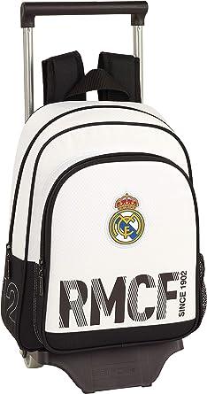 Real Madrid CF Mochila Pequeña Ruedas, Carro, Trolley, Niños ...