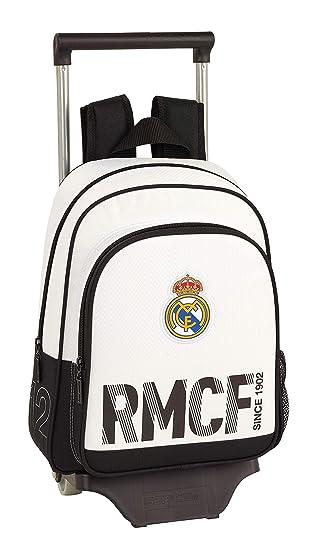 Real Madrid CF Mochila pequeña Ruedas, Carro, Trolley: Amazon.es: Equipaje