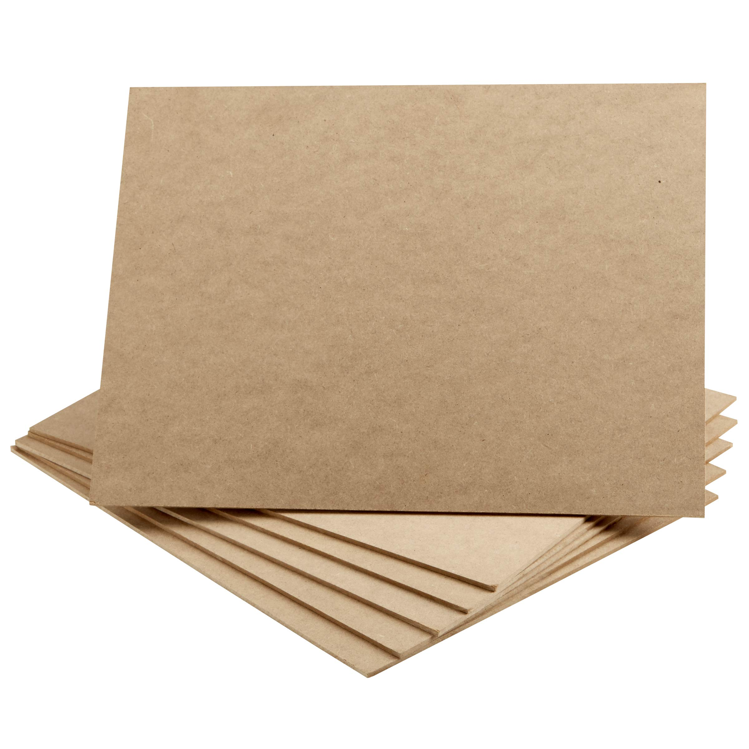Artlicious - 11x14 Hardboard 6 Pack - Great Alternative to Canvas Panel Boards by Artlicious