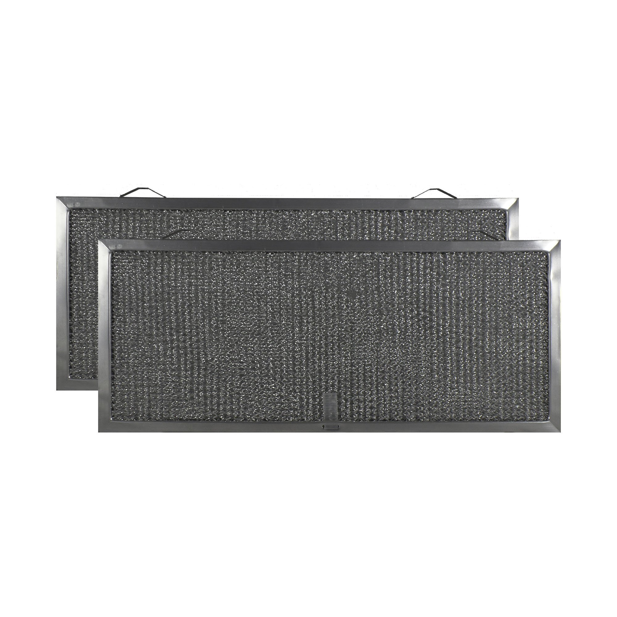 2-PACK Air Filter Factory 7 X 16-1/2 X 3/8 Range Hood Aluminum Grease Filters AFF185-M