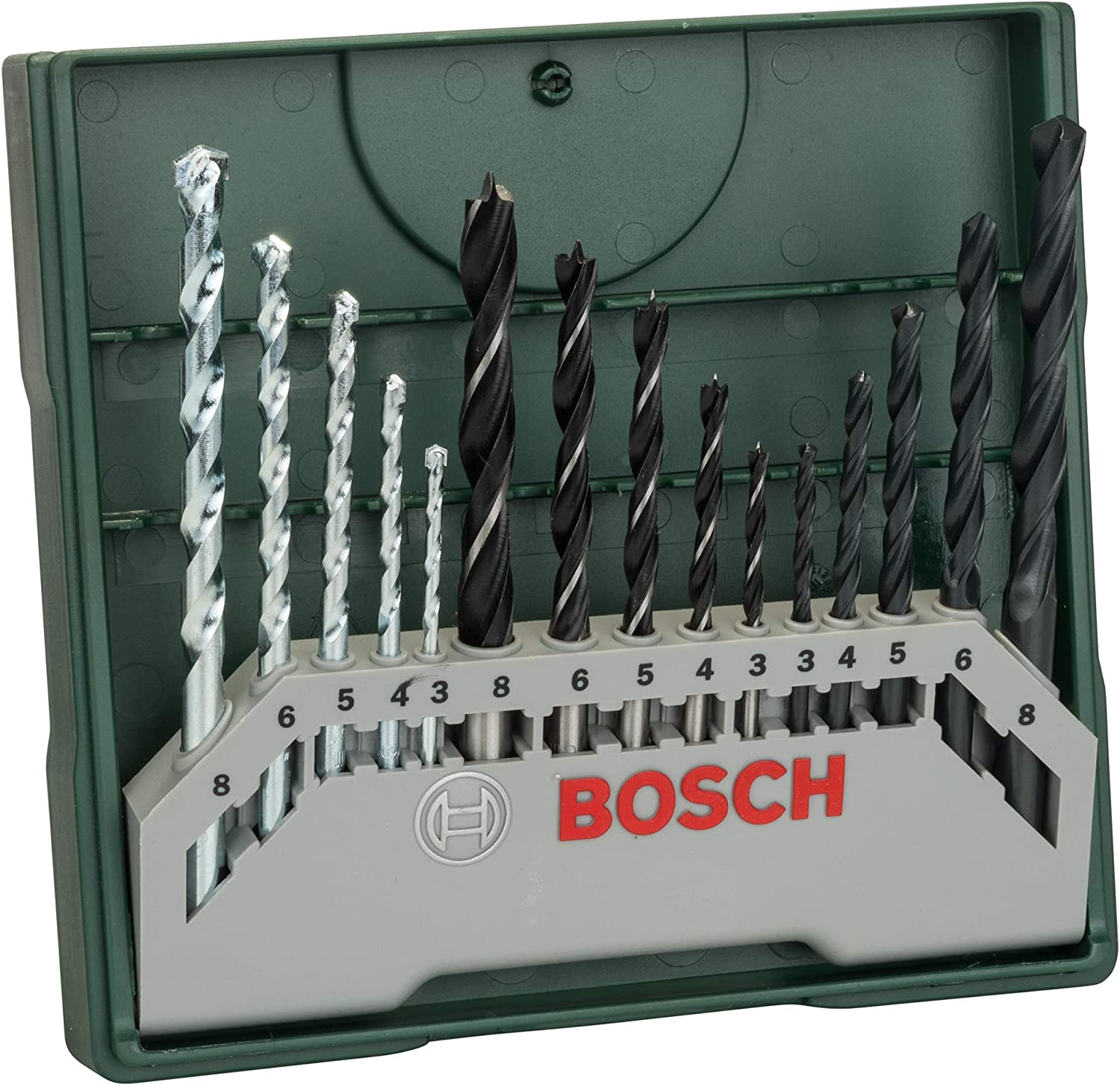 Bosch Mini X-Line - Set de 15 brocas mixto