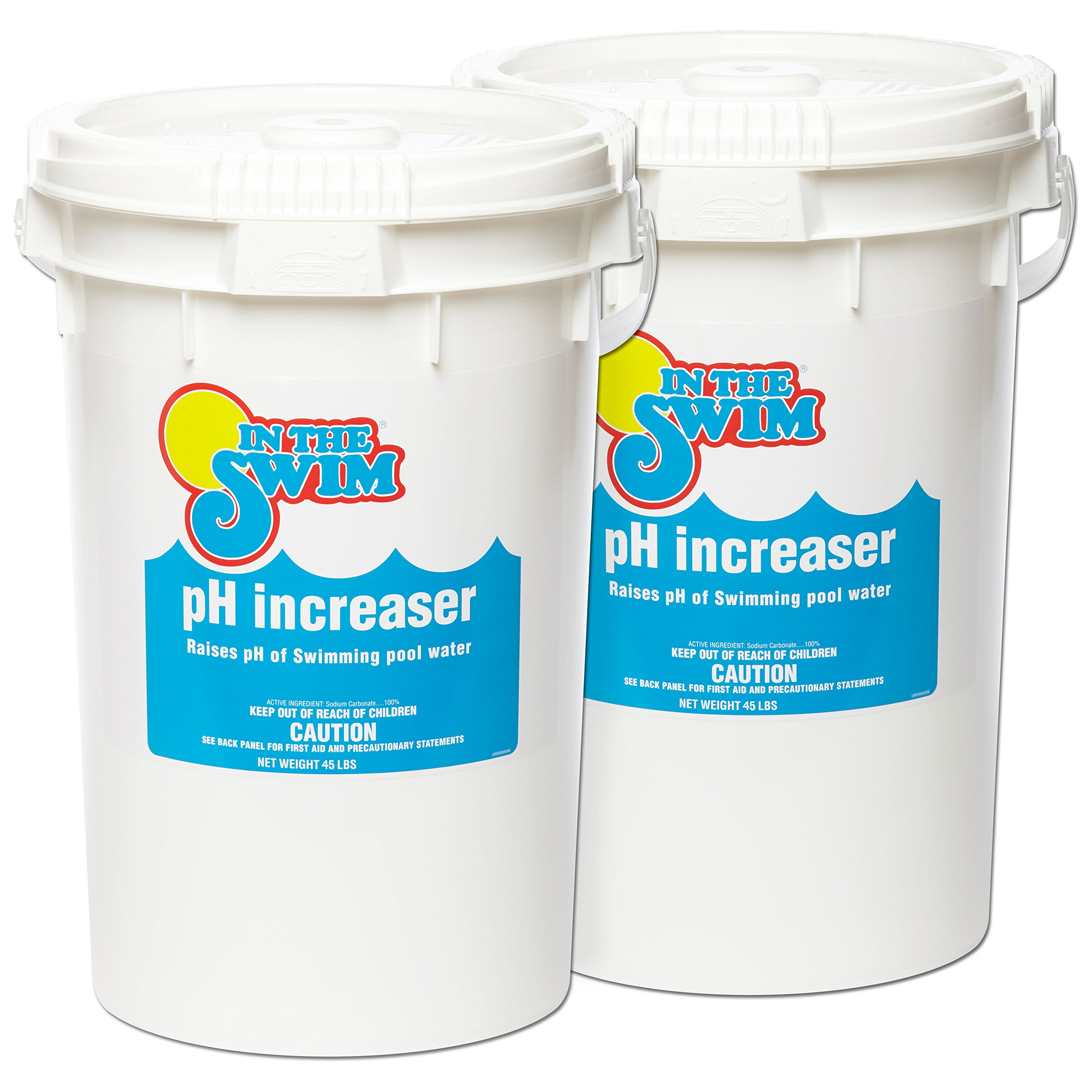 In The Swim Granular Pool pH Increaser - 90 Pounds (2 x 45 Pound Buckets) by In The Swim