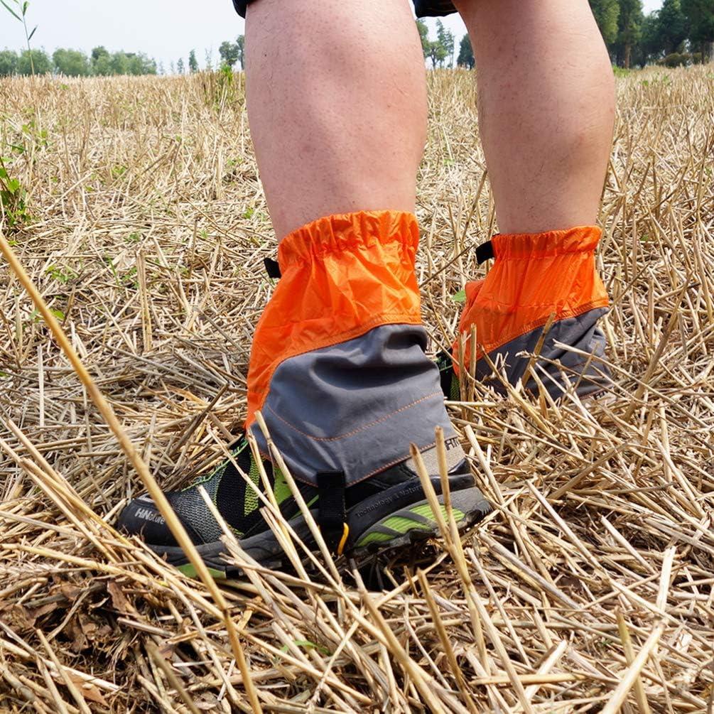 WANZIJING Gaiters1 Paire randonn/ée gu/êtres Jambe gu/êtres imperm/éable /à leau en Plein air Marche Escalade Neige Botte Legging Gaiter Chasse Running XS-XL