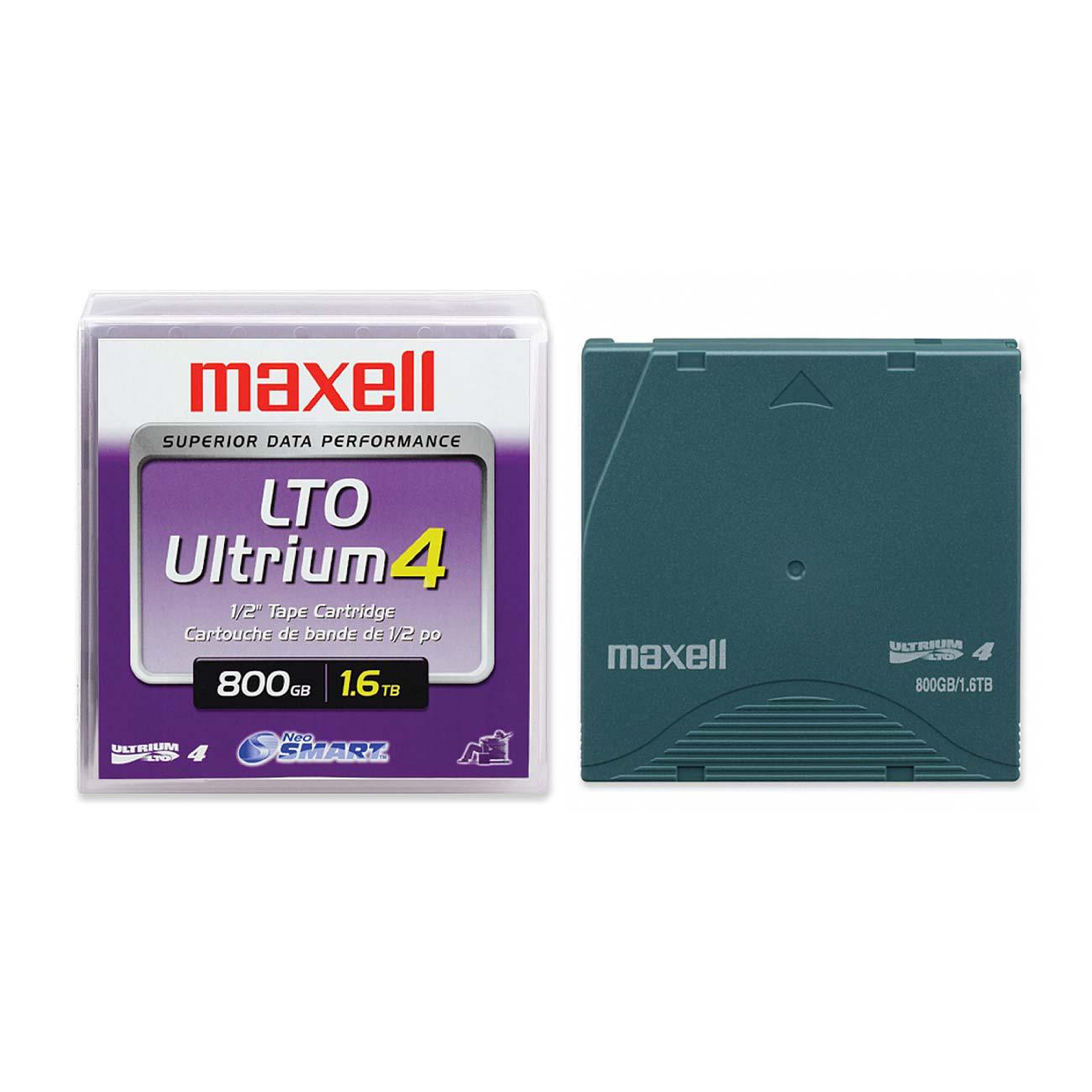 Data Cartridge Maxell Ultrium Lto-4 1.6tb