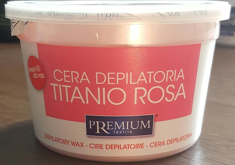 Premium Rosa Titanio cálido Cera, 350 ml para el microondas ...