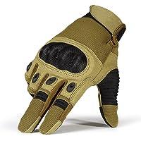 Para hombre Airsoft táctico guantes duro nudillos Militar combate del ejército, Moto, conducción guantes de invierno