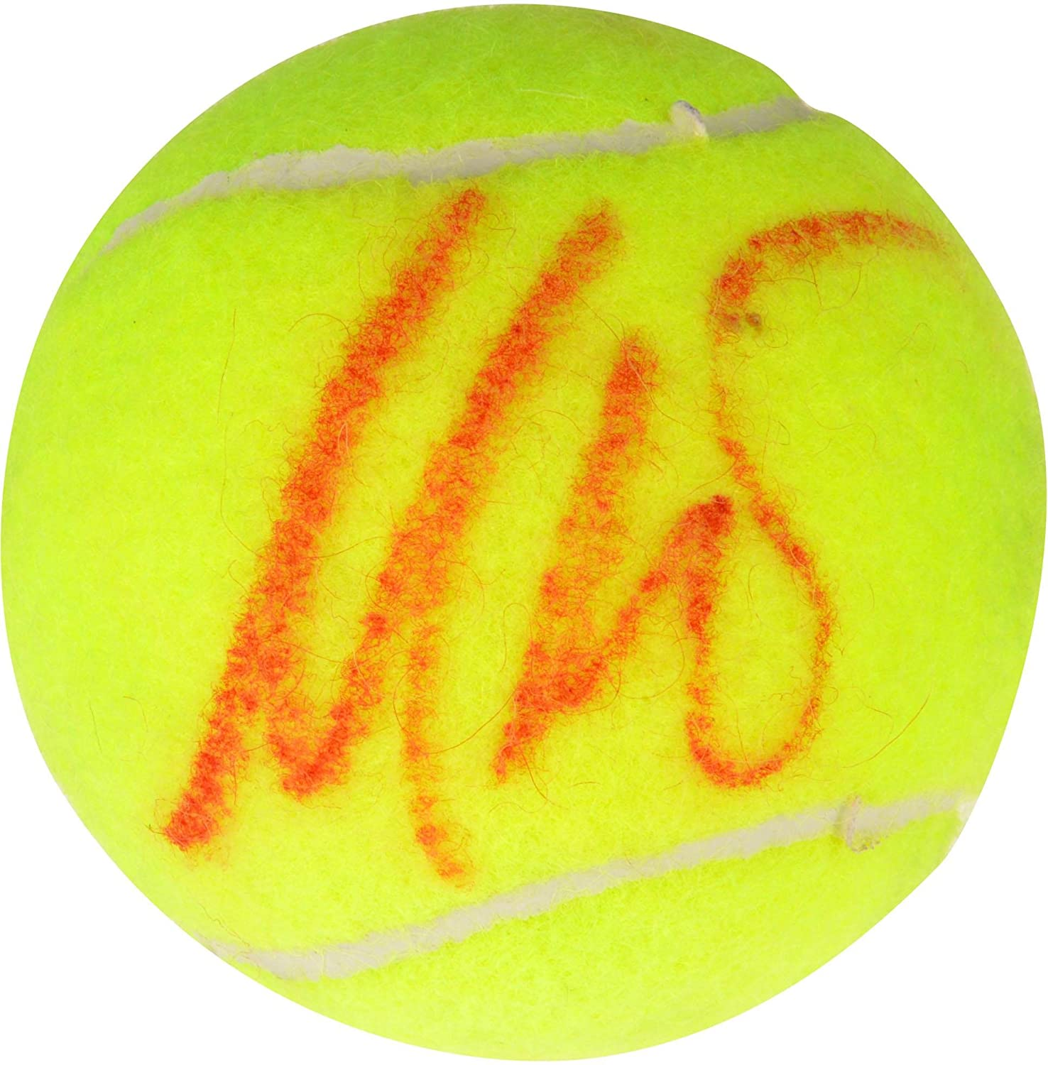 Maria Sharapova Autographed Penn Tennis Ball - Signed in Red Ink - Fanatics Authentic Certified - Autographed Tennis Balls