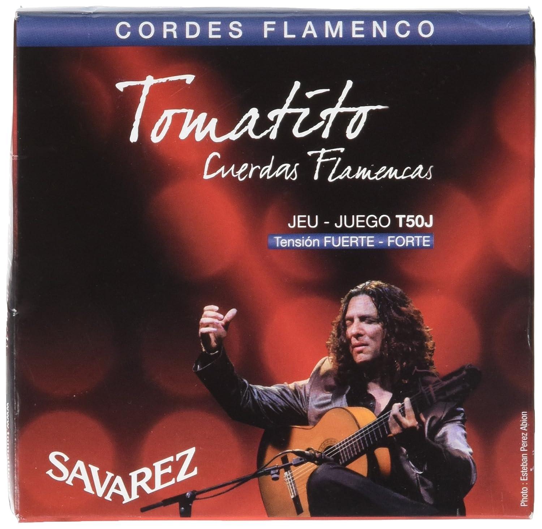 Savarez T50J Nylon Classical Guitar Strings, High Tension KMC Music Inc