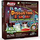 Playz Disgusting n' Gross Zombie Poop, Boogers, & Bloody Slime Science Activity & Experiment Set Gift for Boy, Girls…