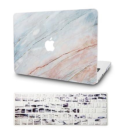 KEC - Carcasa rígida de plástico para MacBook Pro 13
