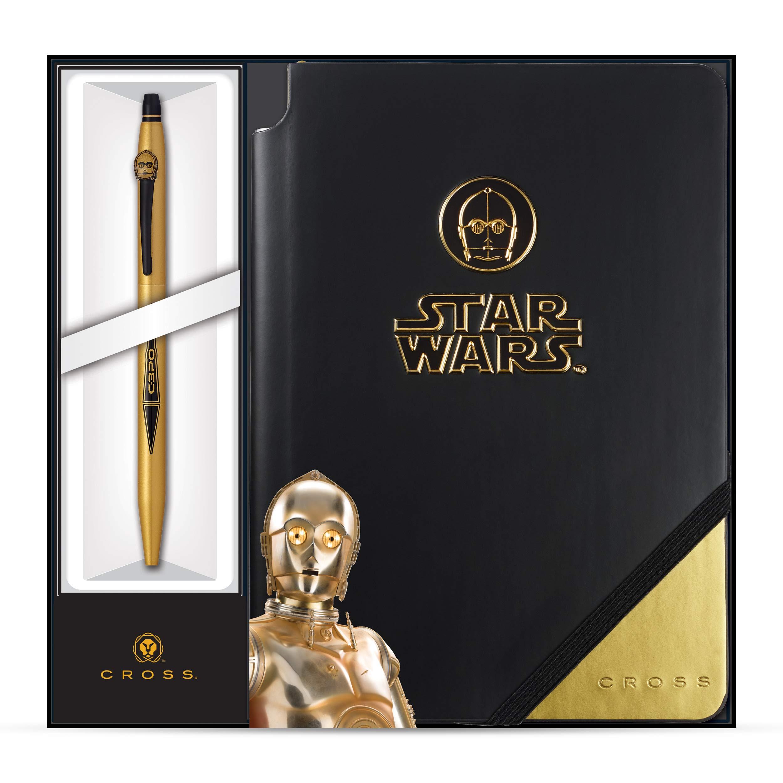 Cross Click Star Wars C-3PO Selectip Gel Rollerball Pen & Jotzone Journal by Cross