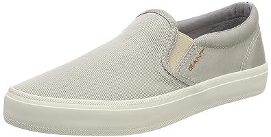 online retailer aa684 e66ef GANT Footwear Damen ZOE Slipper, Grau (Silver), 37 EU ...
