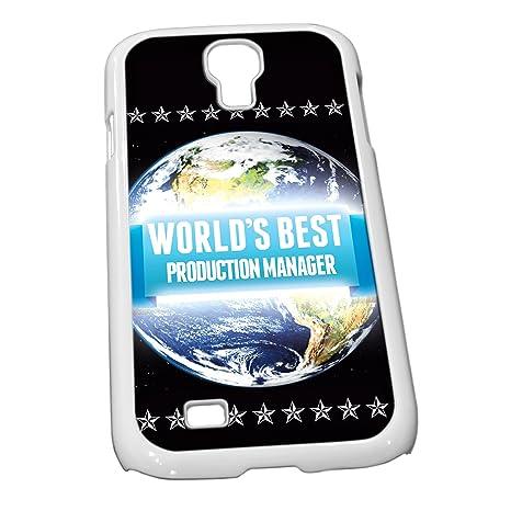 Blanco para Galaxy S4 1331 azul Worlds Best producción ...