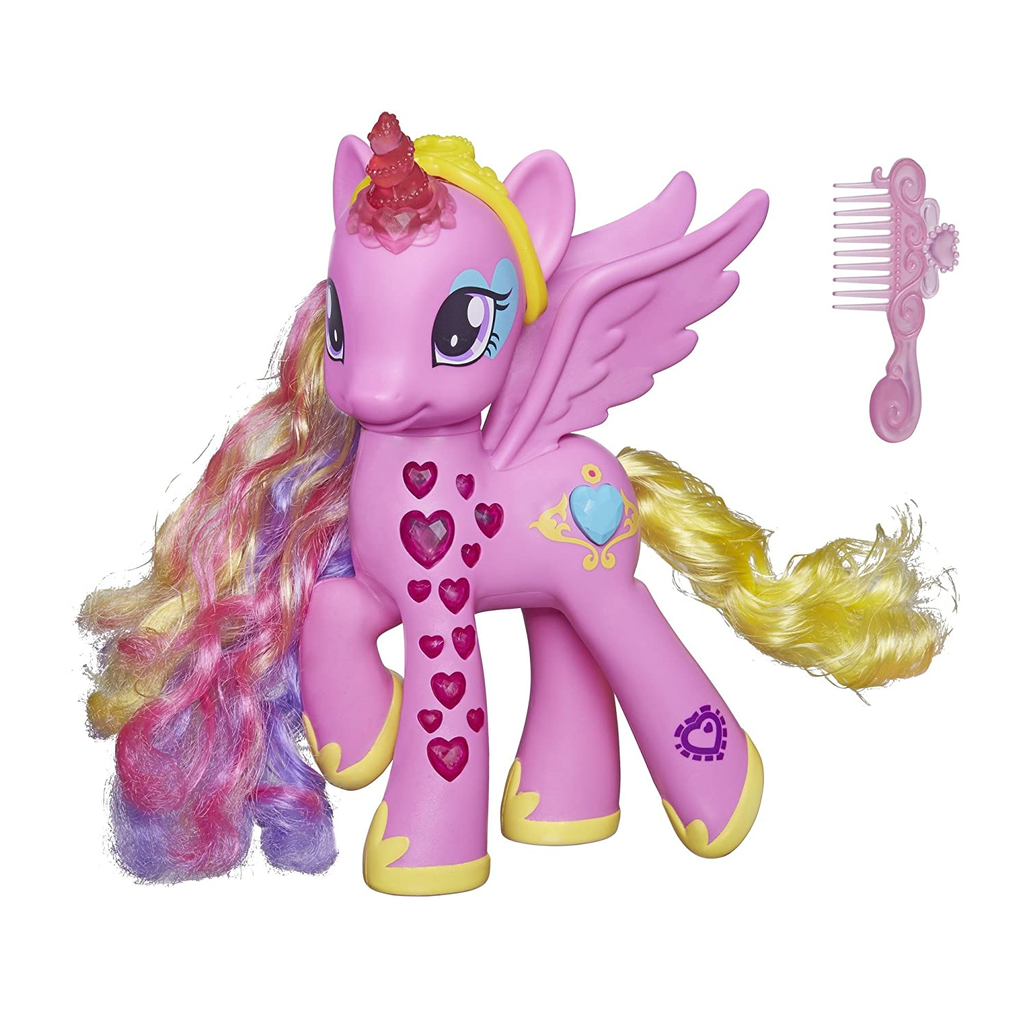 my little pony b13701010 mini poupe princesse cadance curs lumineux