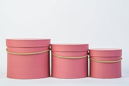 Caja de regalo con mensaje personalizado con cable, Simple Juego de cajas decorativas de 3