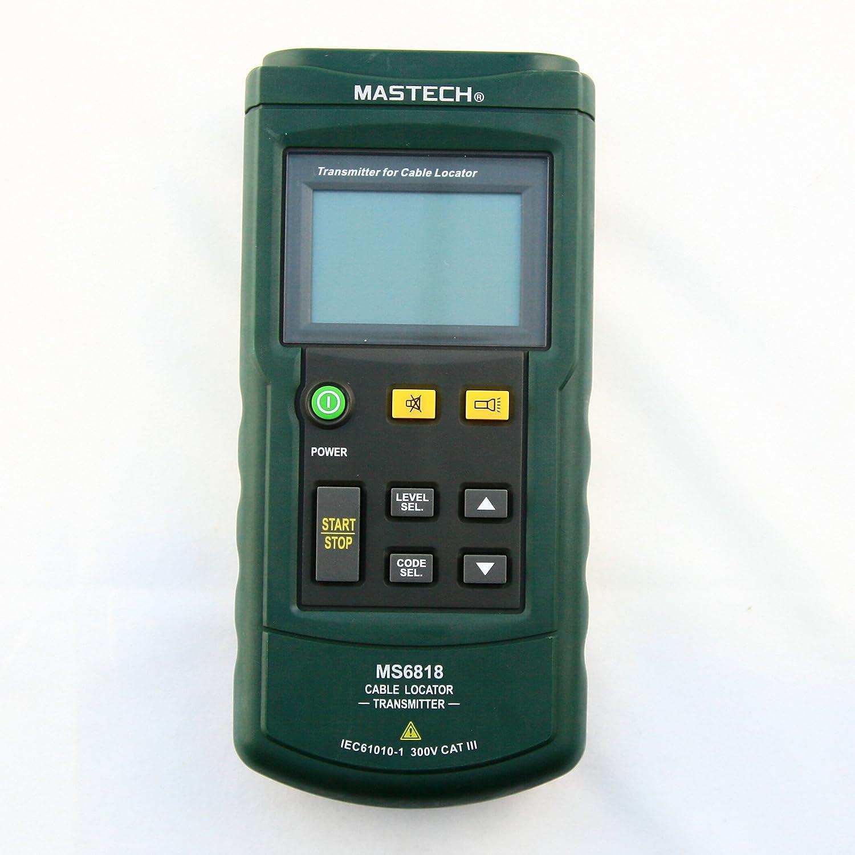 Mastech MS6818 - Localizador de tuberías con medidor (CC/CA, 12 a 400 V): Amazon.es: Industria, empresas y ciencia