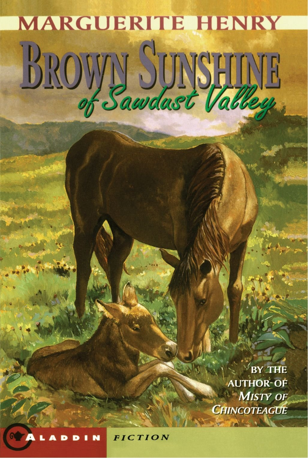 Ebook Brown Sunshine Of Sawdust Valley By Marguerite Henry