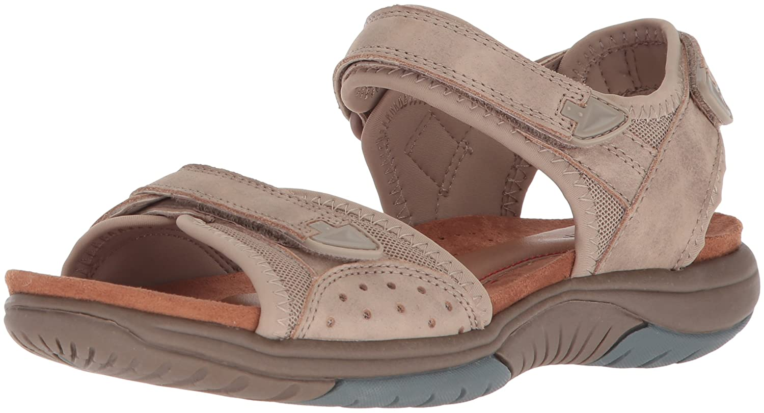 Rockport Women's Franklin Three Strap Sport Sandal B073ZTTW62 8 B(M) US|Sand