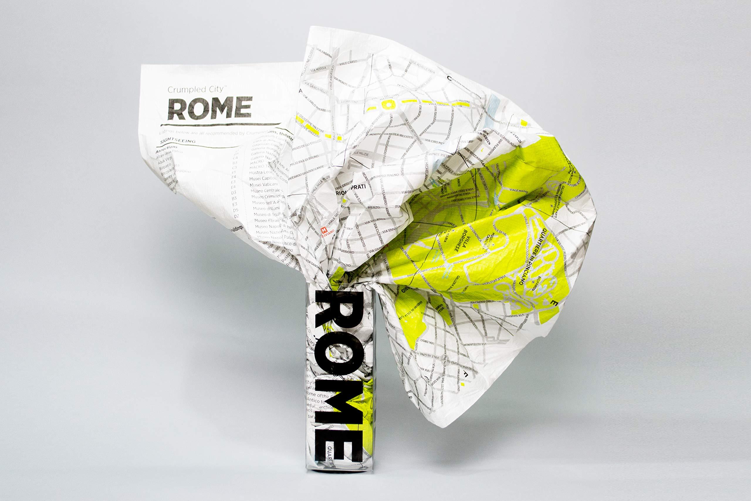 Crumpled City: Rome (Crumpled City Maps)