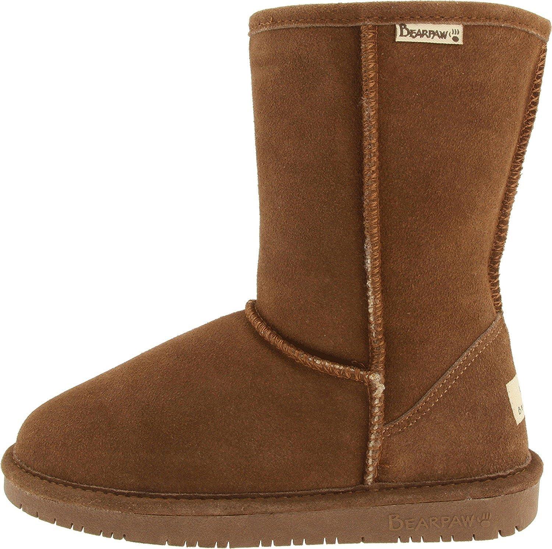 Wide Calf Emma Short Boot, Hickory