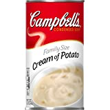 Campbell'sCondensed Family Size Cream of Potato Soup, 23 oz. Can