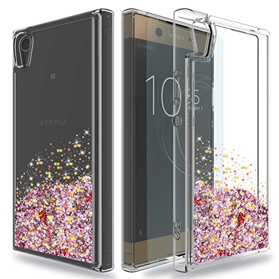 sports shoes 30c08 5d69d Amazon.com: Sony Xperia XA1 Ultra Case with HD Screen Protector,Ayoo ...