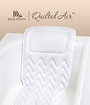 QuiltedAir BathBed -FULL BODY COMFORT- Luxury Spa Bath Pillow and Mat