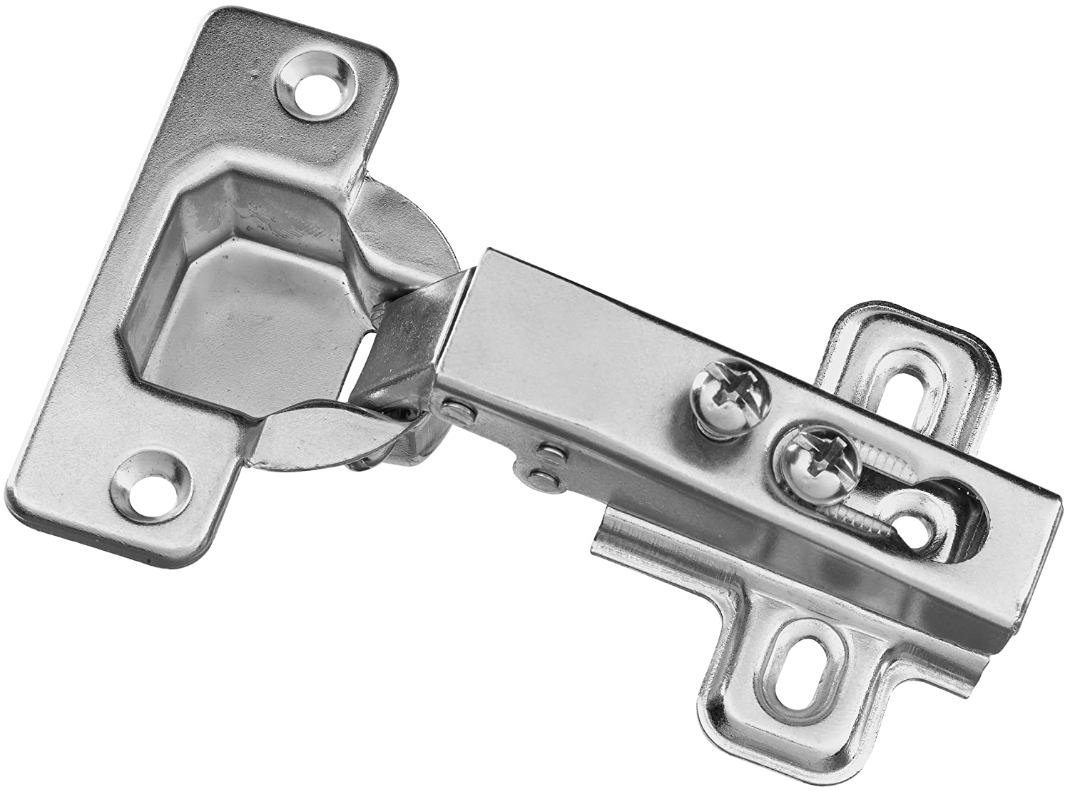 Stanley Hardware BB8180 Concealed Cabinet Hinge In Plain Steel   Cabinet  And Furniture Hinges   Amazon.com