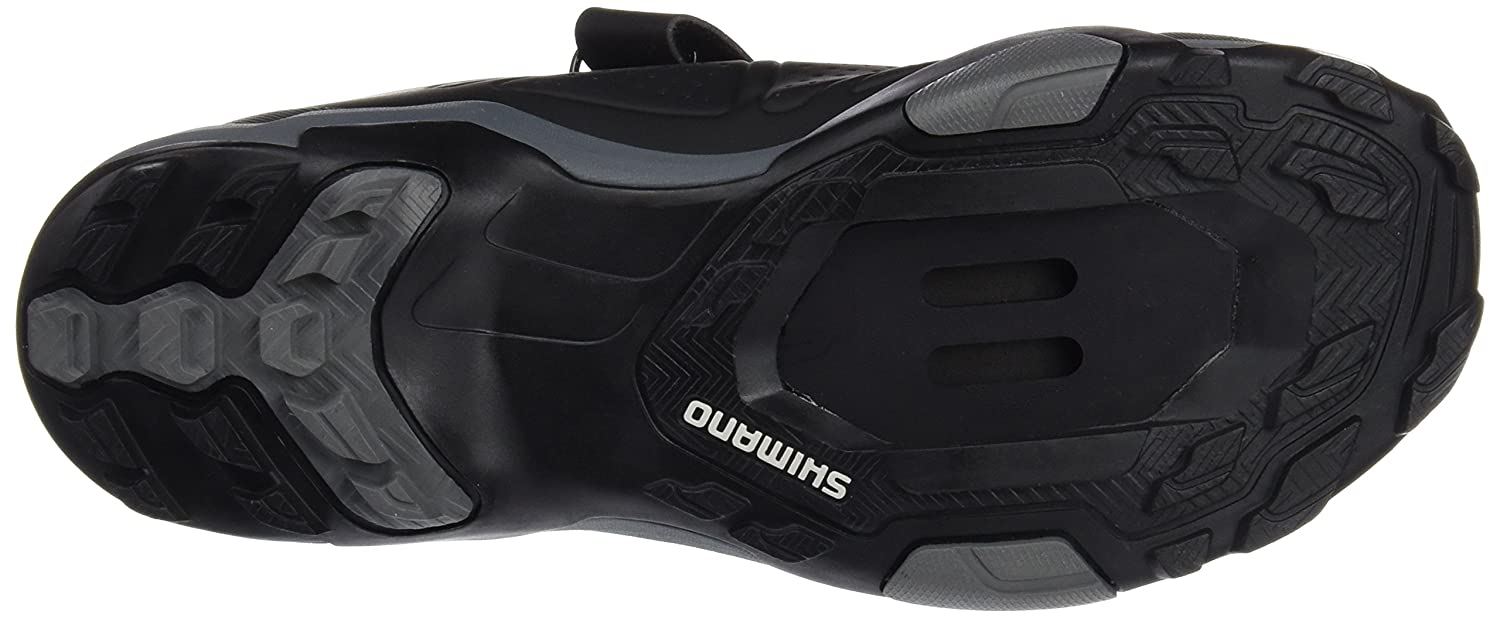 Amazon.com | Shimano Mens Shmt5og450sl00 Road Cycling Shoes, Black, 10.5 UK | Shoes