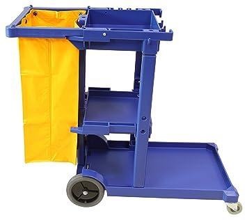 Carro de limpieza multifunción Clim Profesional®. Carro de limpieza de calidad especial para colectividades, hoteles, hostales, etc. Carro con ruedas, ...