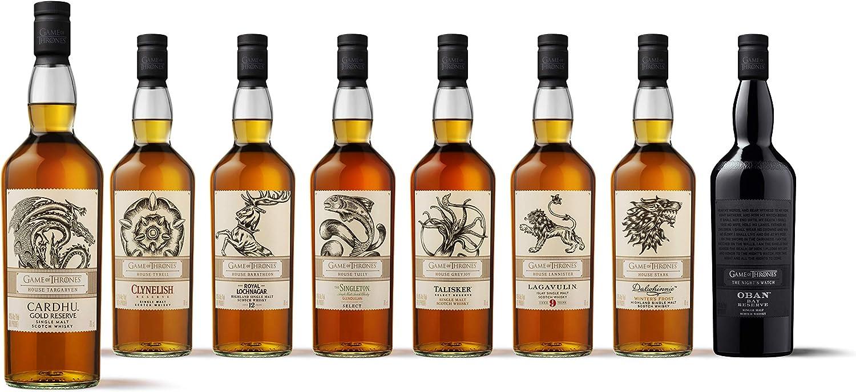 Cardhu Gold Reserve – Whisky escocés puro de malta – Edición limitada Juego de Tronos: Casa Targaryen – 700 ml: Amazon.es: Alimentación y bebidas