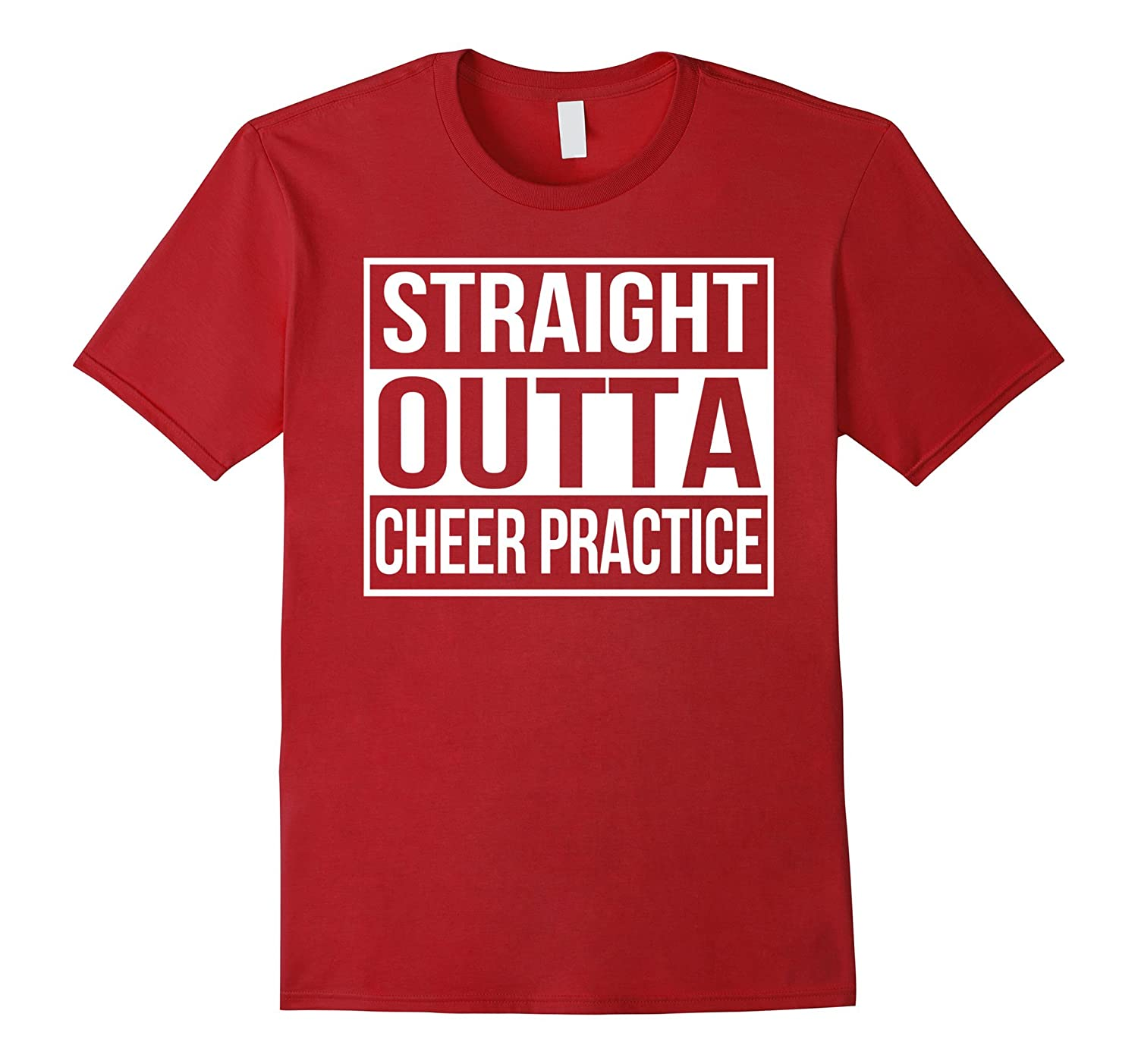 3a0a306f53 Straight Outta Cheer Practice - Funny Cheerleading Shirts-ANZ ...