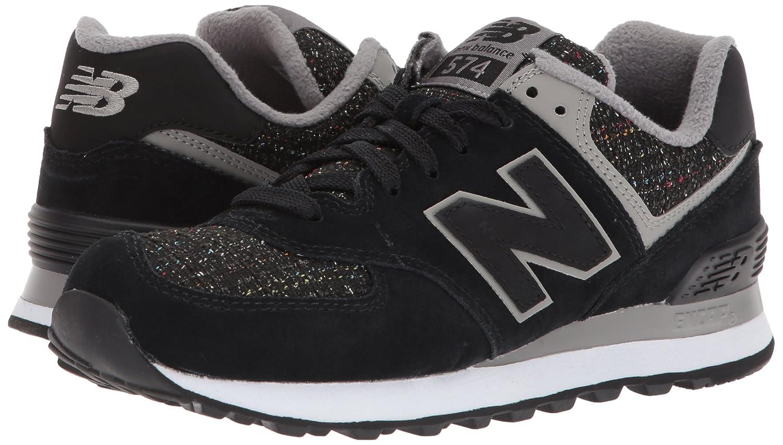 New Balance Women's 574v1 D Sneaker B01N7LX7SH 12 D 574v1 US Black/Overcast 3170cb