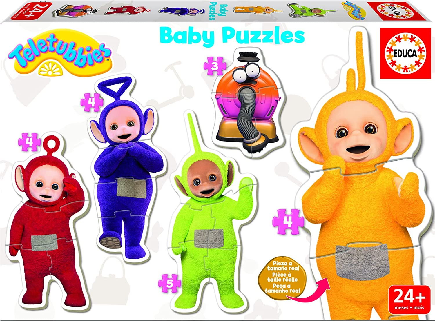 Educa Borrás - 17014.0 - Baby - Puzzle - Teletubbies