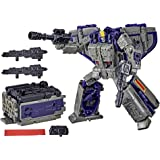 Transformers Toys Generations War for Cybertron: Earthrise Leader WFC-E12 Astrotrain Triple Changer Action Figure - Kids Ages 8 and Up, 7-inch